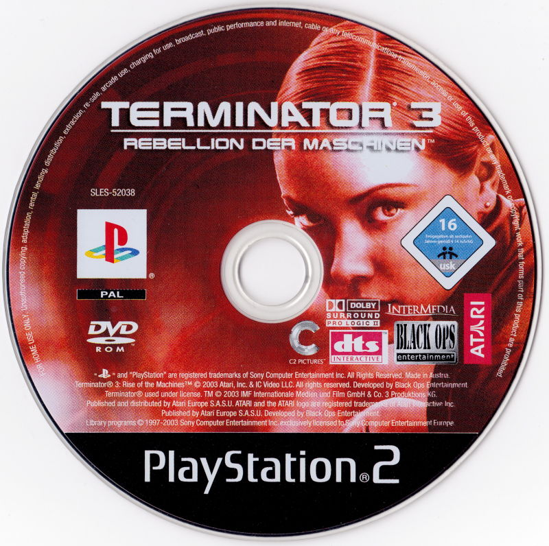 Terminator 3: Rise Of The Machines (2003) PlayStation 2
