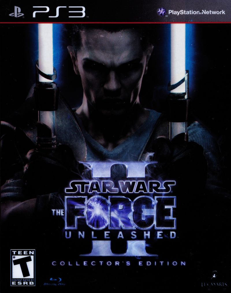 Star Wars: The Force Unleashed II (Collector's Edition) PlayStation 3 Front Cover