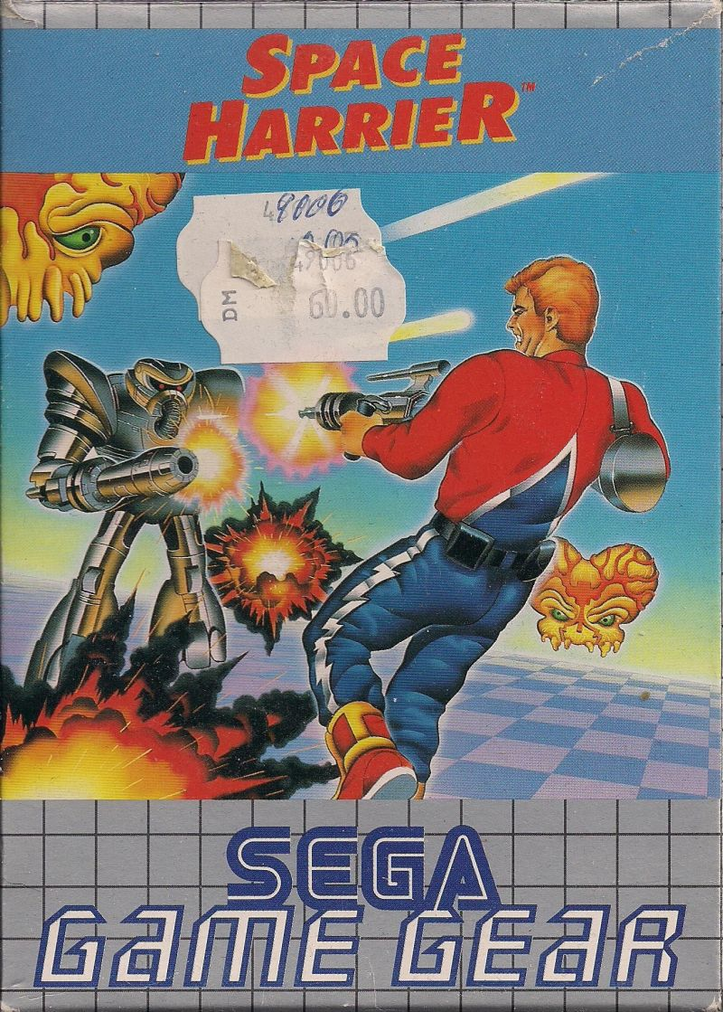 space harrier game gear mobygames