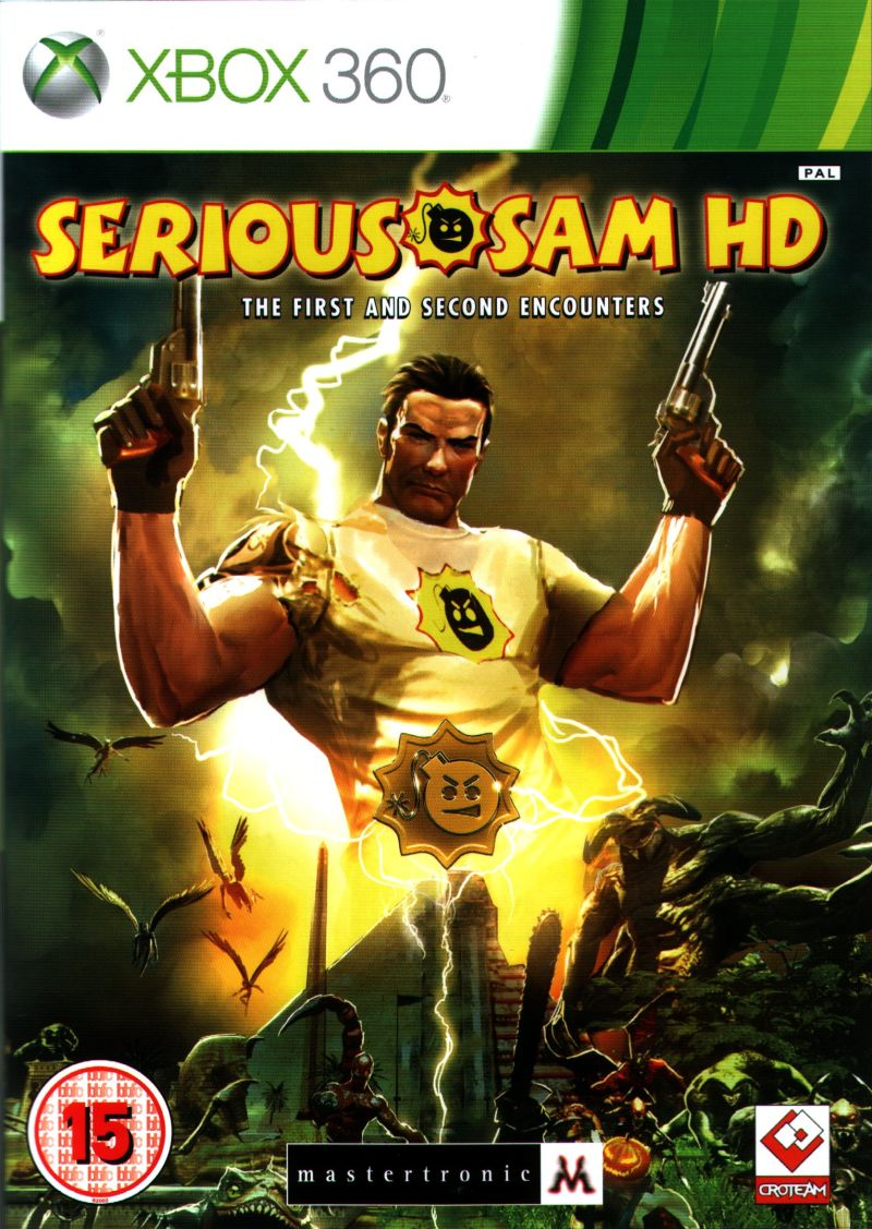 Serious Sam HD Xbox 360 Front Cover