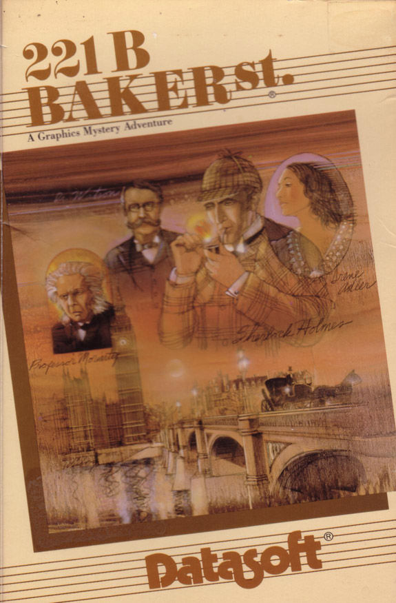 221 B Baker St. DOS Front Cover