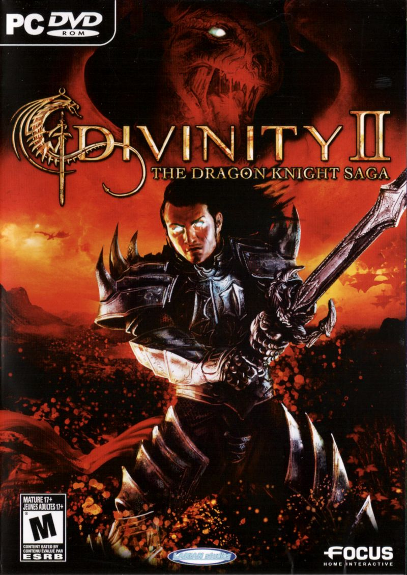 Divinity II: The Dragon Knight Saga Windows Front Cover