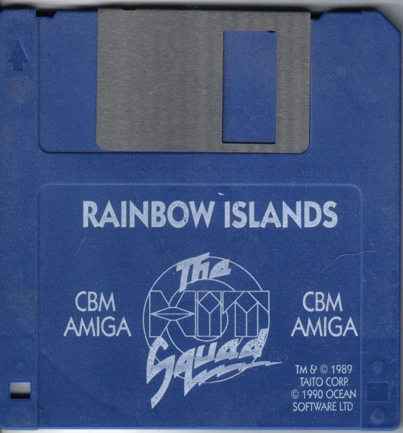 Rainbow Islands Amiga Media