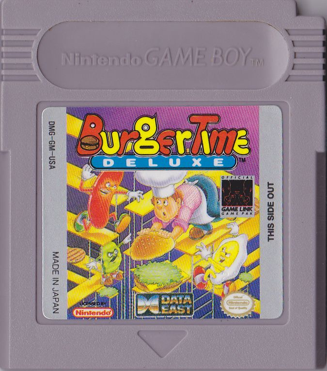 Burger Time Deluxe Game Boy Media