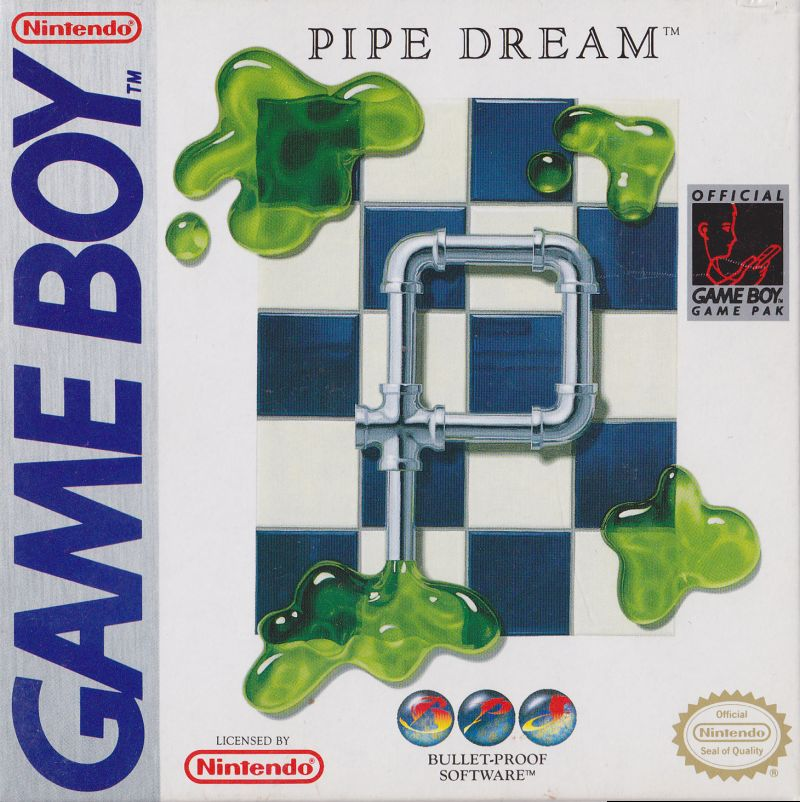 Pipe Dream Game Boy Front Cover