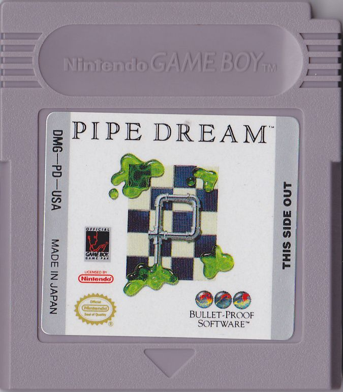 Pipe Dream Game Boy Media