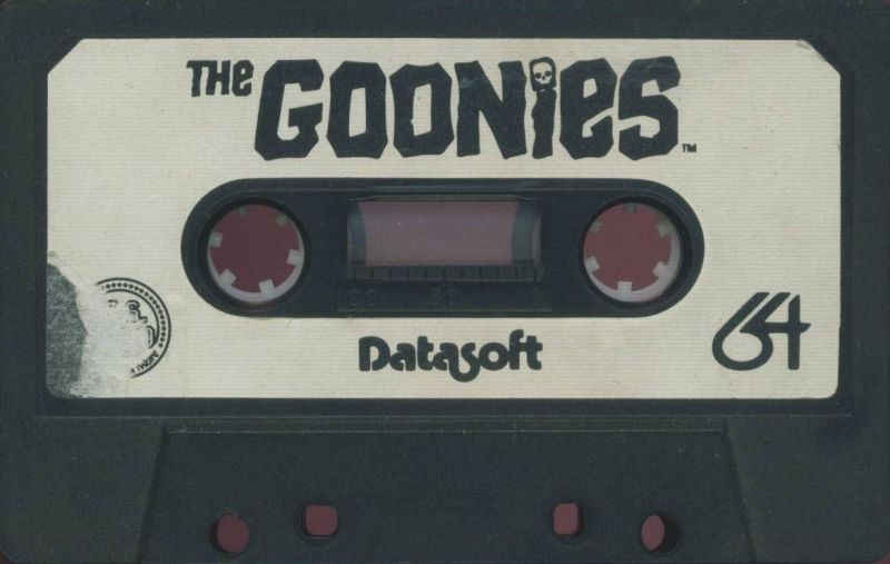 The Goonies Commodore 64 Media