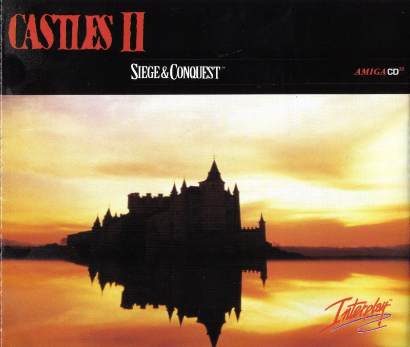 Castles II: Siege & Conquest Amiga CD32 Other Jewel Case - Inside Front