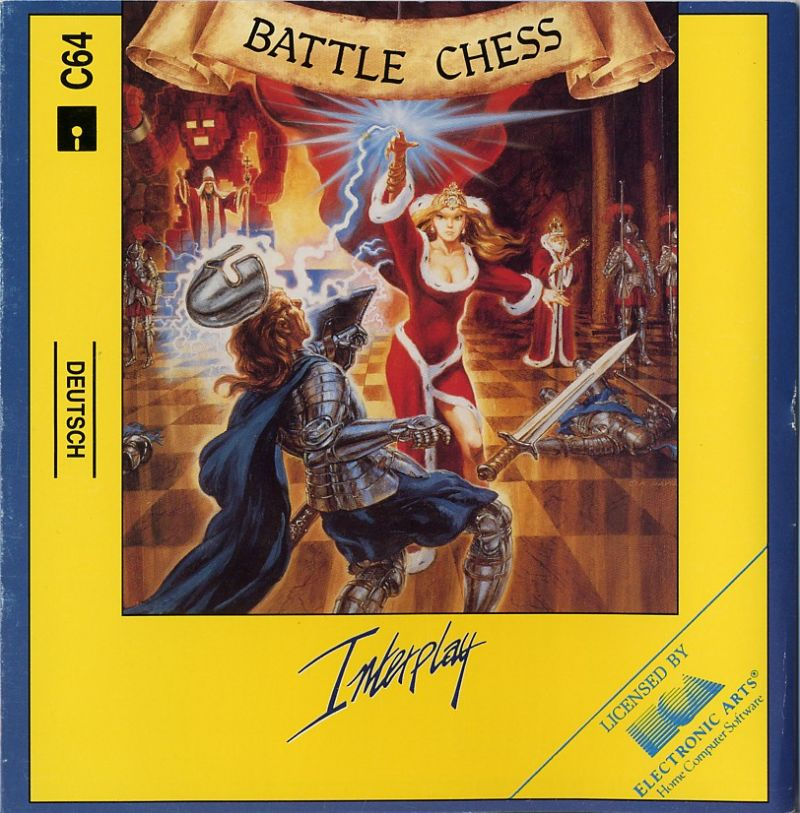Battle Chess Commodore 64 Front Cover