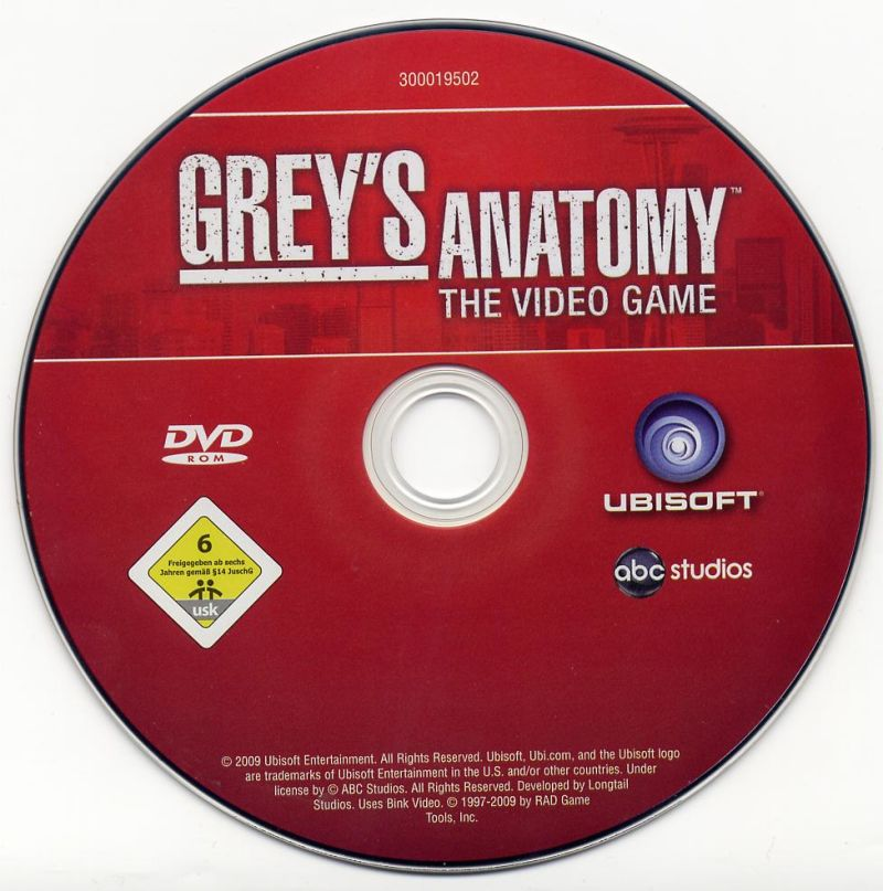 Grey's Anatomy: The Video Game Windows Media