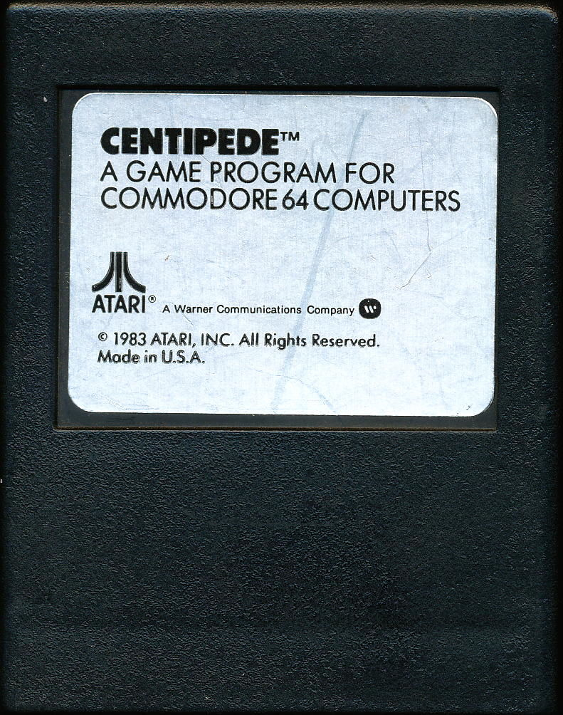 Centipede Commodore 64 Media