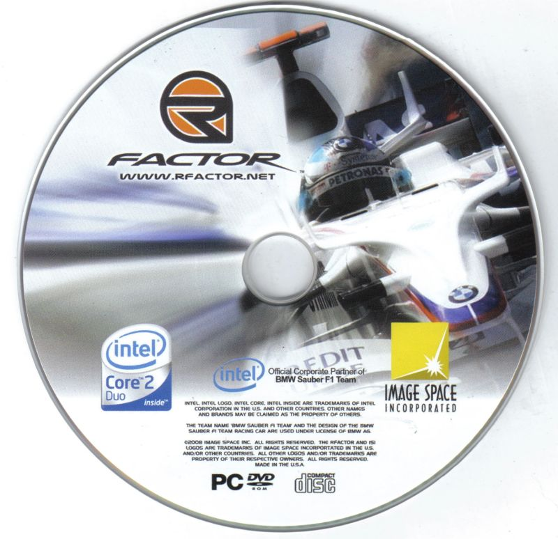 rFactor: Special Edition 2008 (2008) Windows box cover art - MobyGames