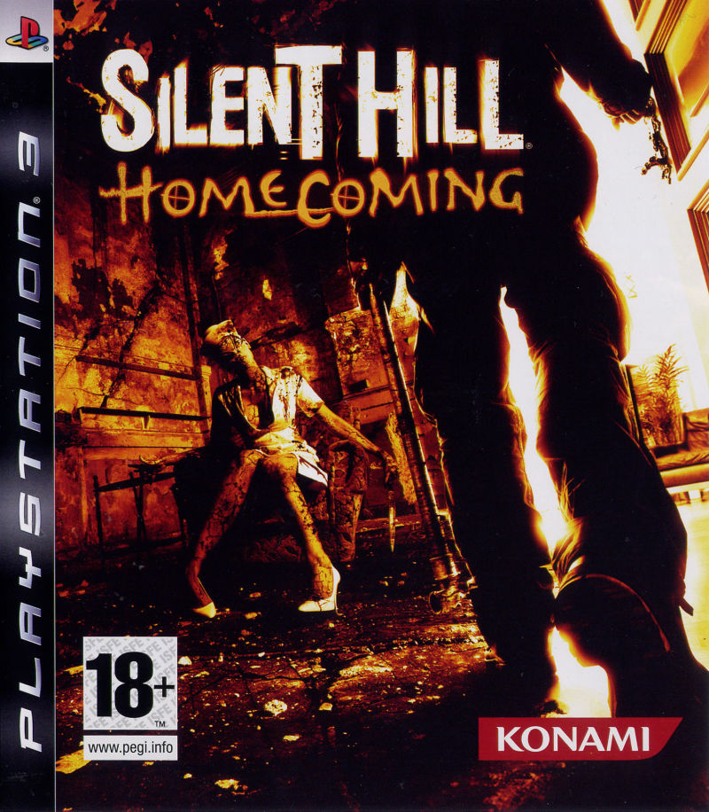 Silent Hill: Homecoming PlayStation 3 Front Cover