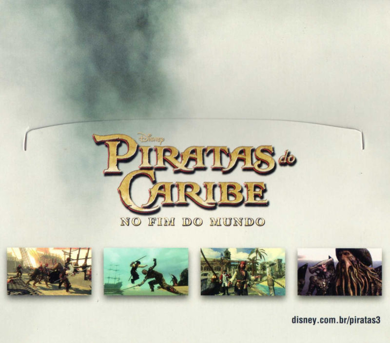 Disney Pirates of the Caribbean: At World's End Windows Other Sleeve - Inside Right