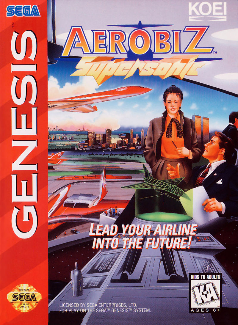 Aerobiz Supersonic Genesis Front Cover