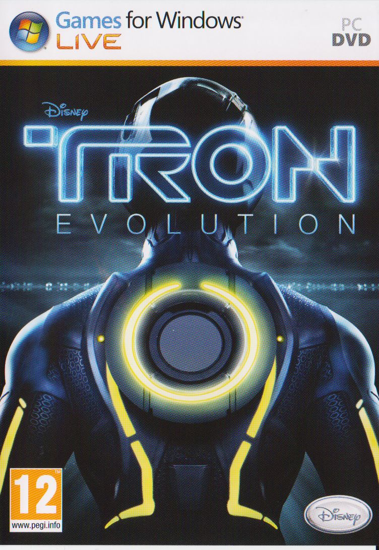 TRON: Evolution Windows Front Cover