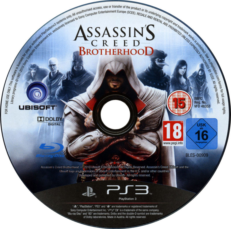 Assassin's Creed: Brotherhood (Codex Edition) PlayStation 3 Media