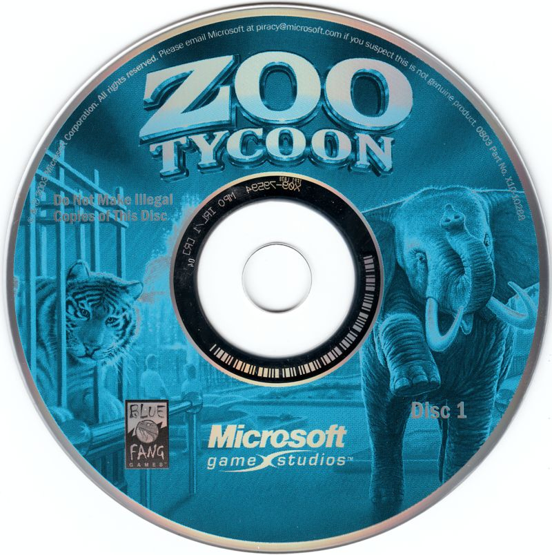 Zoo Tycoon: Complete Collection (2003) Windows box cover art