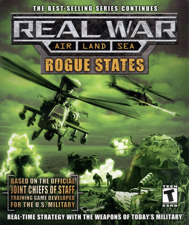 Real War: Rogue States Windows Front Cover