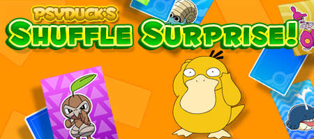 Psyduck's Shuffle Surprise! Browser Front Cover