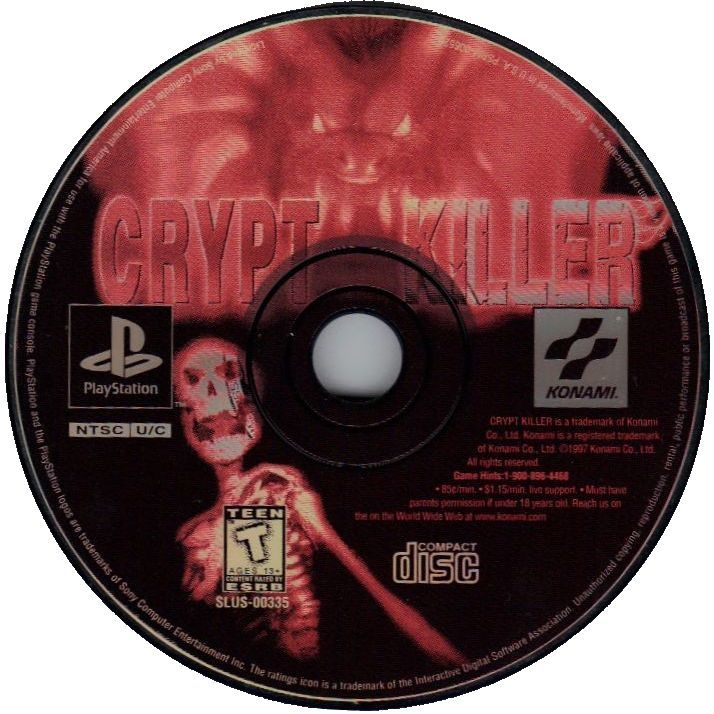 Crypt Killer PlayStation Media