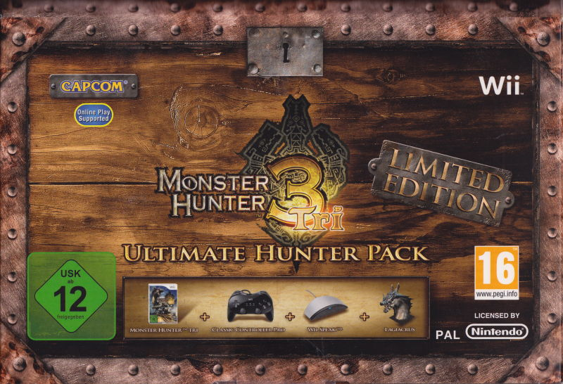 Monster Hunter Tri - Limited Edition: Ultimate Hunter Pack Wii Front Cover