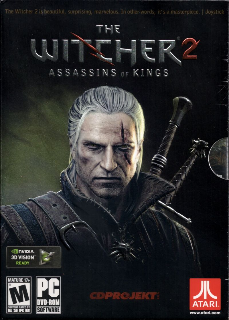 Witcher Book Cover Art ~ The witcher assassins of kings windows box cover