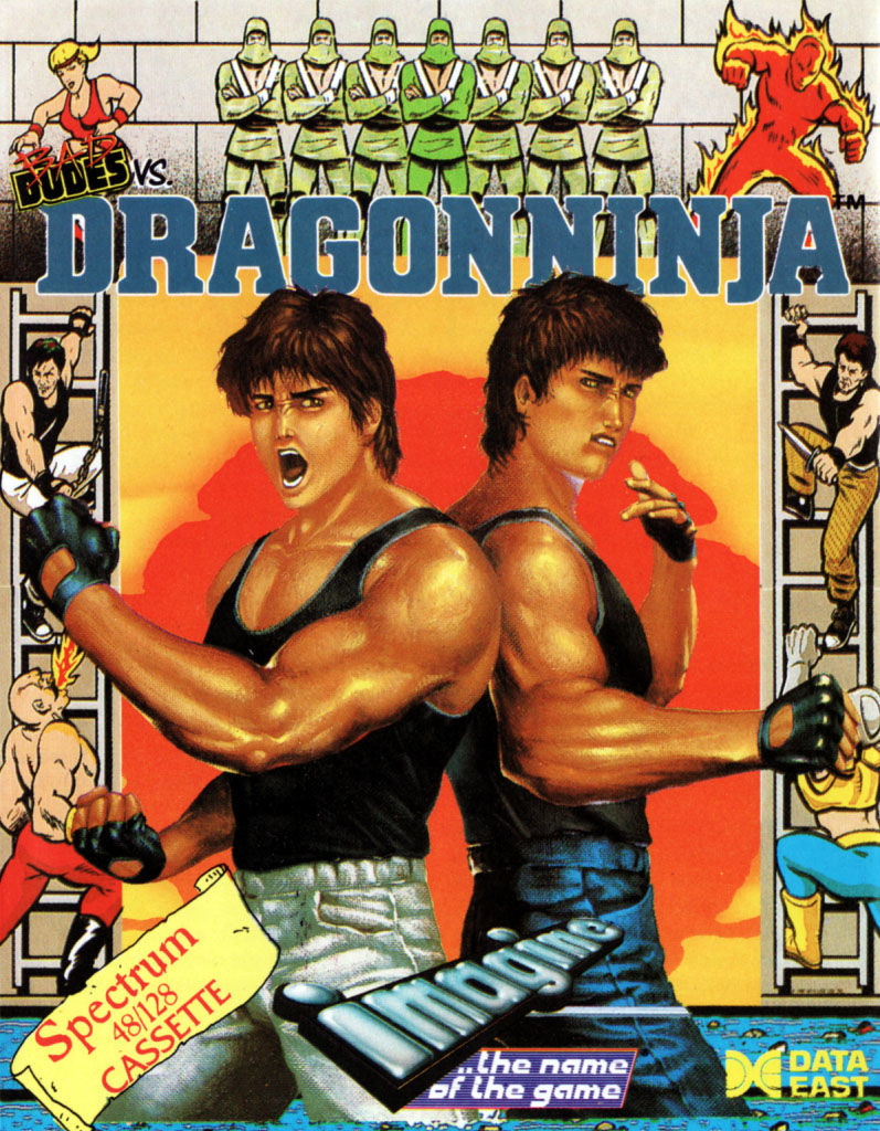 Bad Dudes ZX Spectrum Front Cover