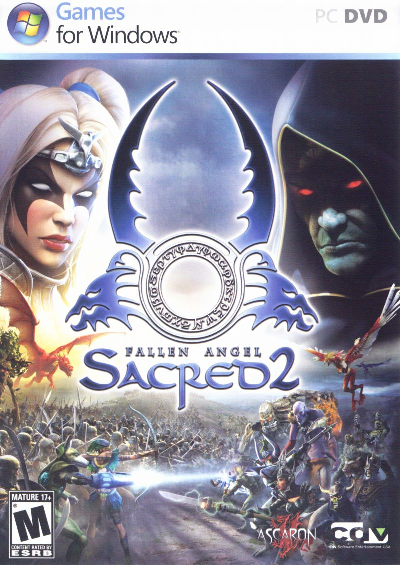 Sacred 2: Fallen Angel Windows Other Keep Case - Front