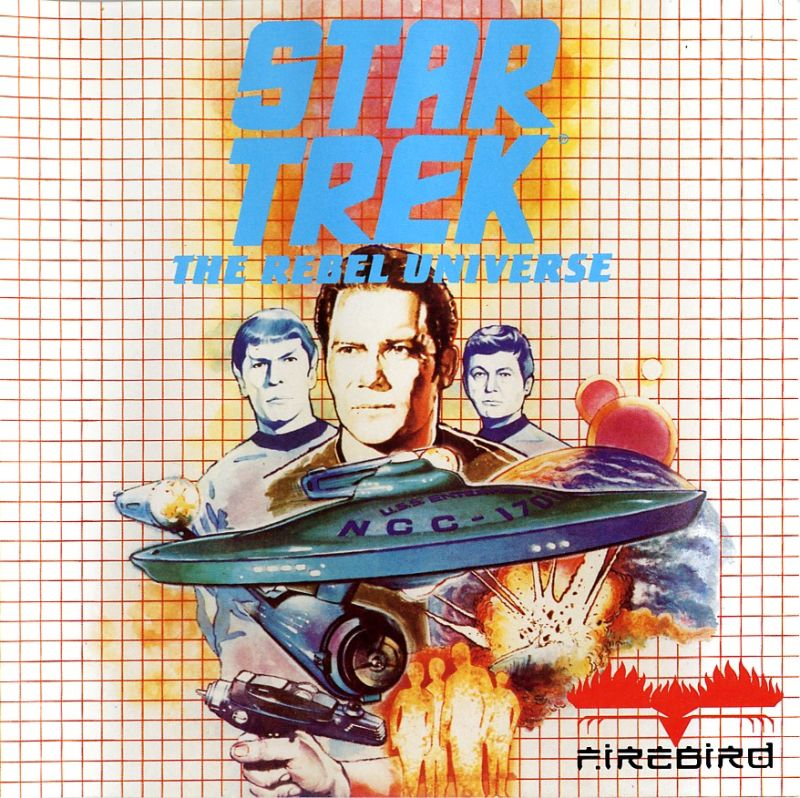 Star Trek: The Rebel Universe Atari ST Front Cover