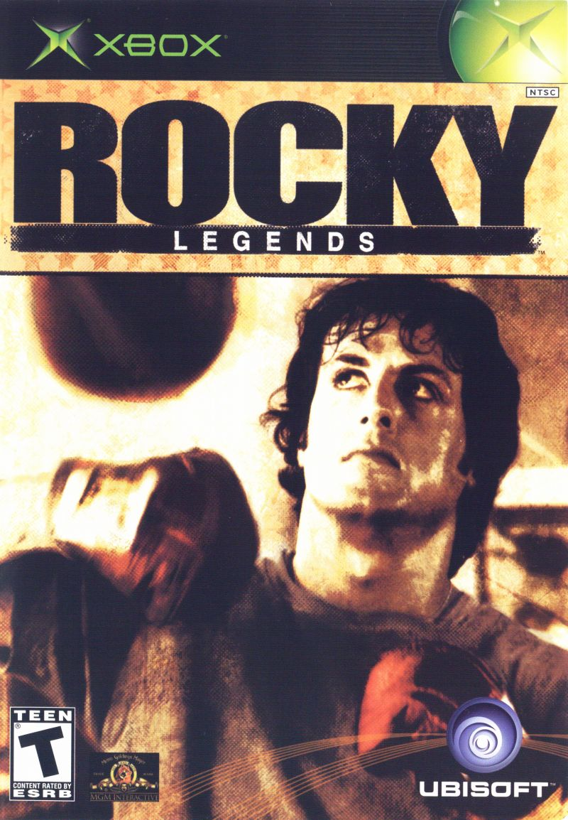 Rocky: Legends Xbox Front Cover