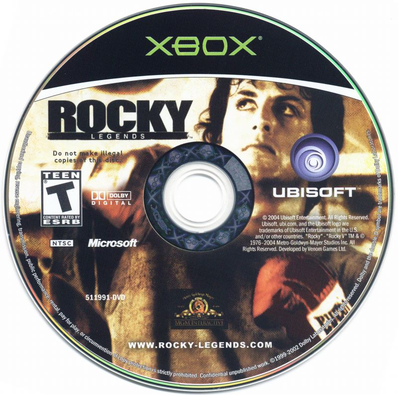 Rocky: Legends Xbox Media
