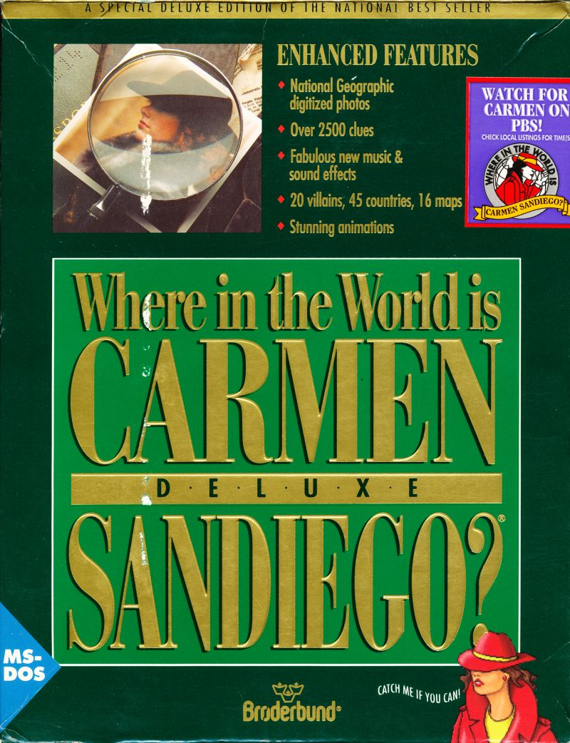 Where in the world is carmen sandiego deluxe iso download free.