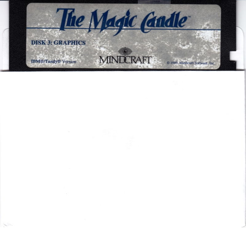 The Magic Candle: Volume 1 DOS Media Disk 3