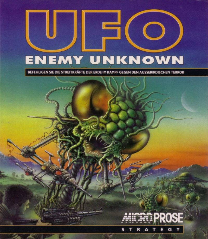 X-COM: UFO Defense Amiga Front Cover