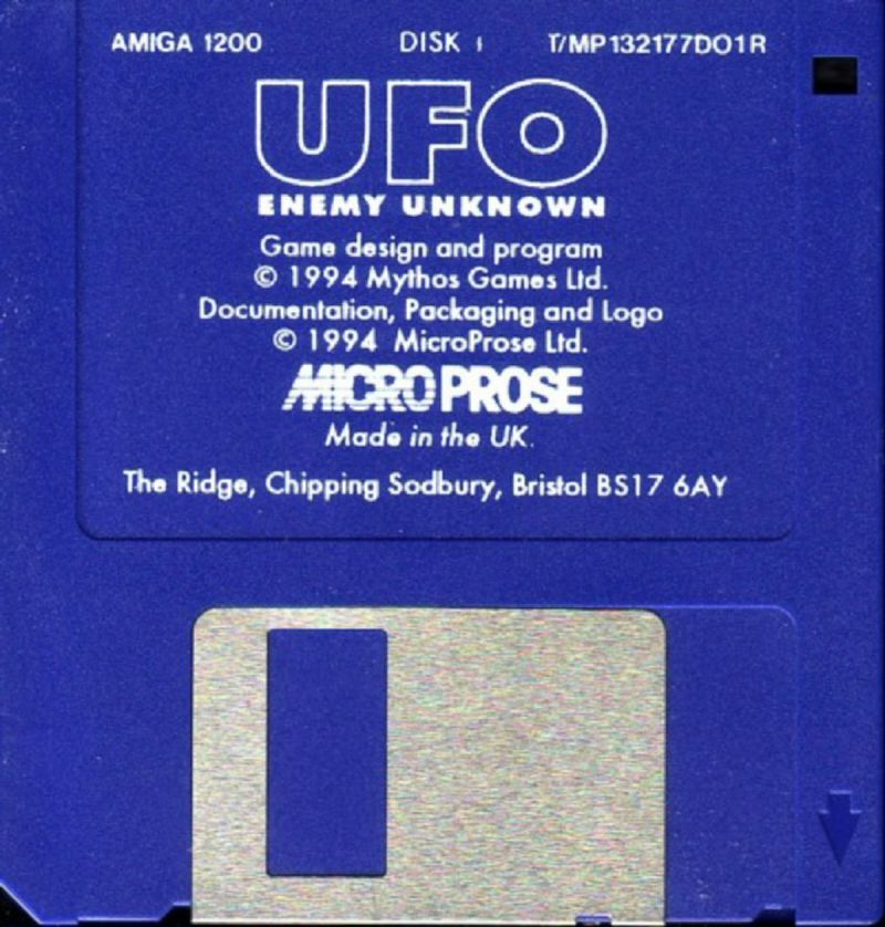 X-COM: UFO Defense Amiga Media 1/4
