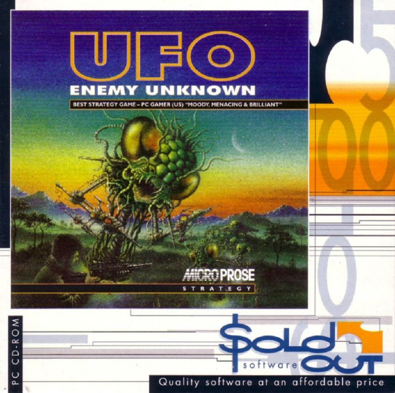 X-COM: UFO Defense DOS Other Jewel Case Front