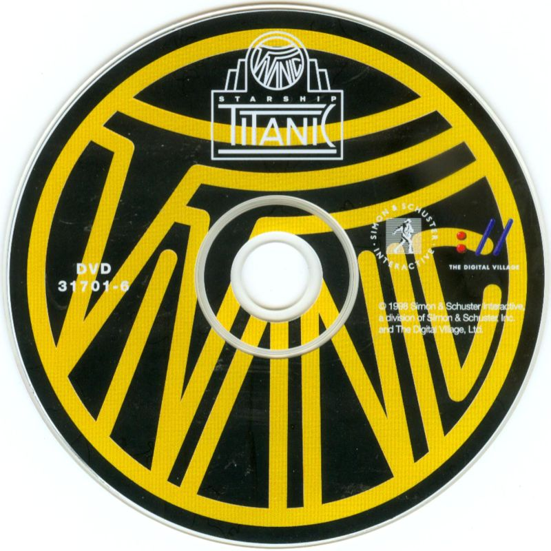 Starship Titanic Windows Media DVD-ROM