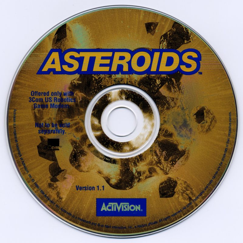 Asteroids Windows Media