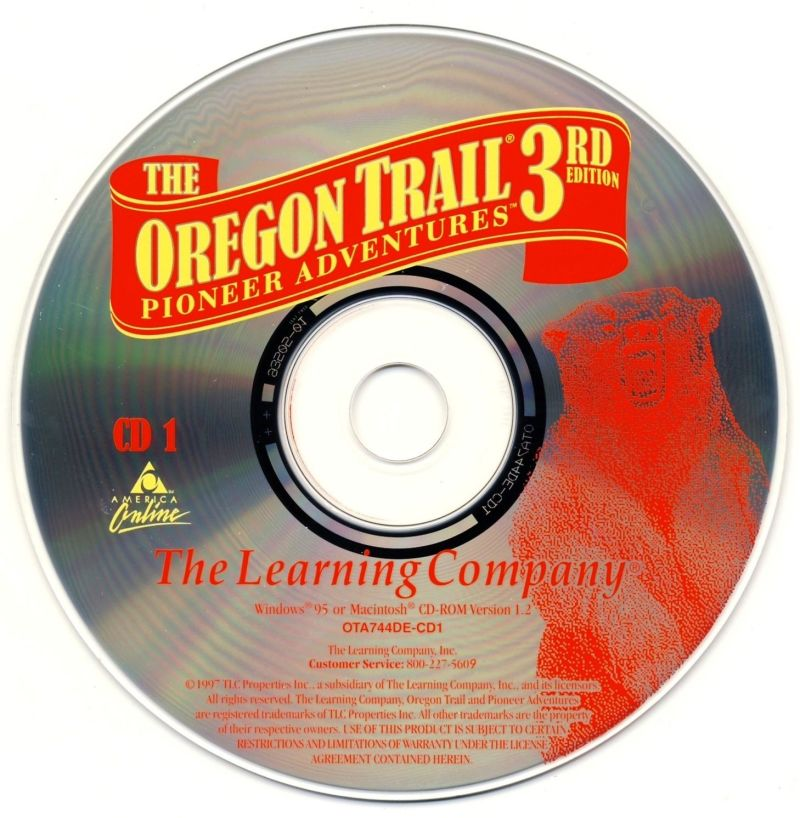 The Oregon Trail: 3rd Edition Macintosh Media Disc 1