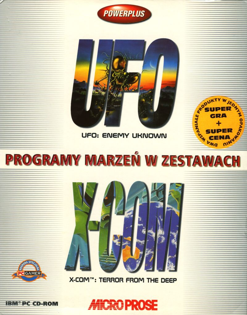 UFO: Enemy Unknown / X-COM: Terror from the Deep DOS Front Cover