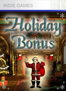 Holiday Bonus Xbox 360 Front Cover 1st version