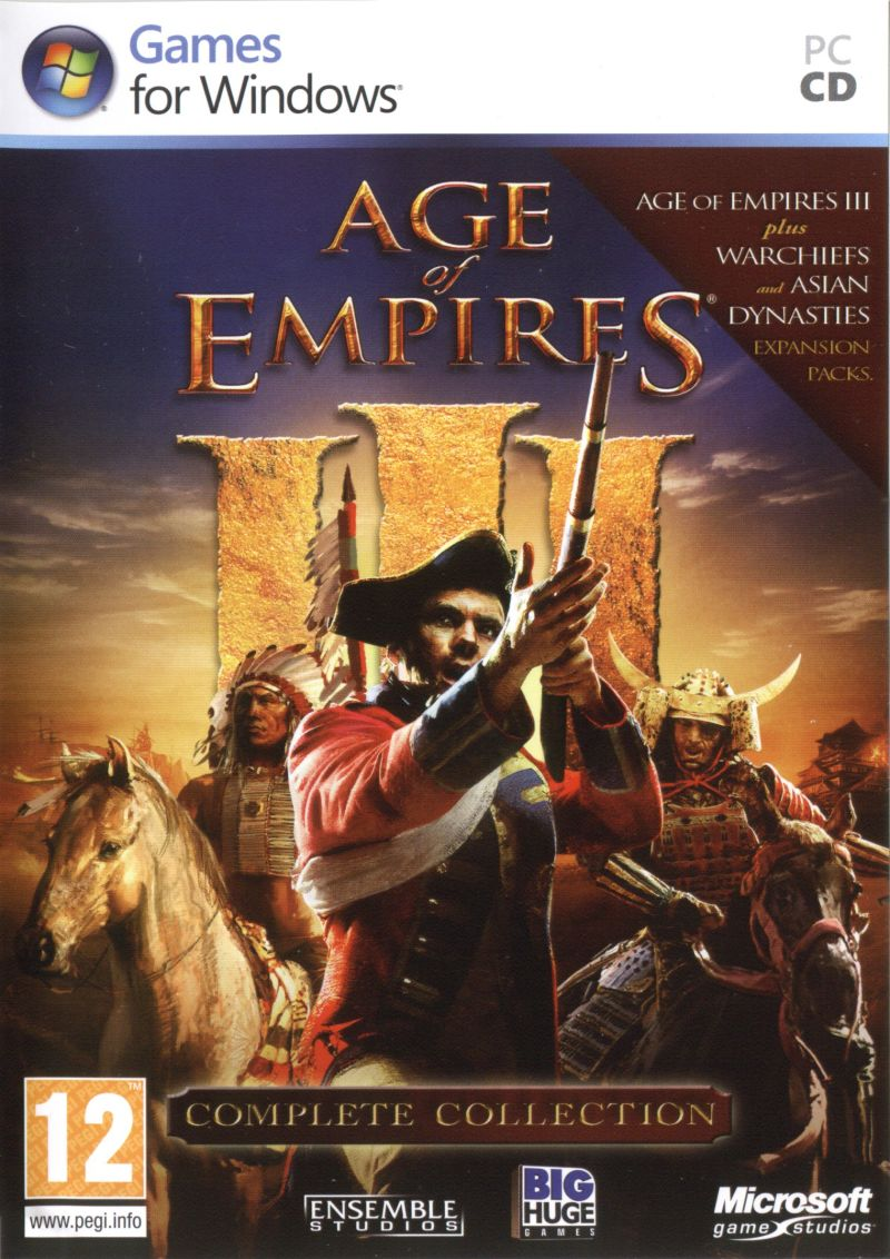 Age of Empires III: Complete Collection Windows Front Cover