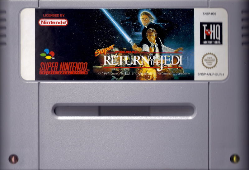 Super Star Wars: Return of the Jedi SNES Media