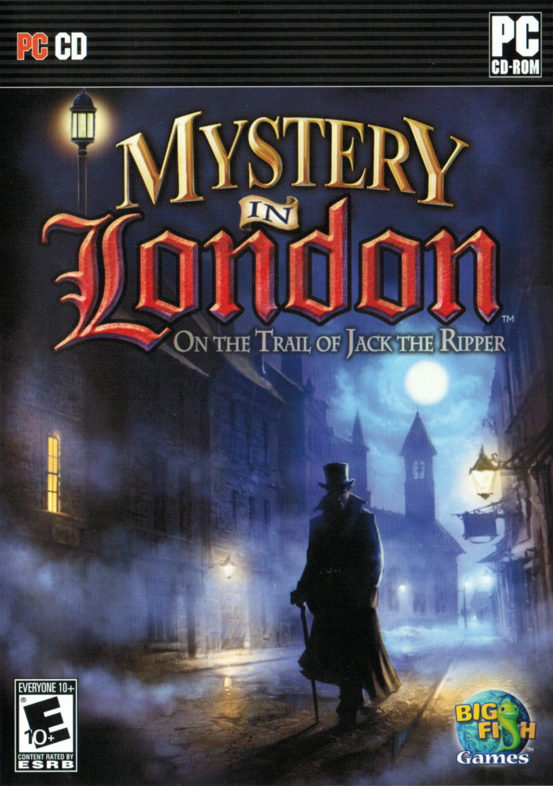Mystery in London Windows Front Cover