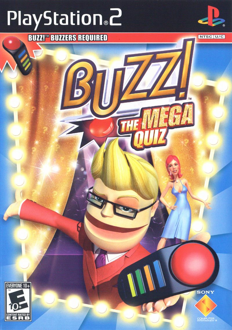Buzz!: The Mega Quiz for PlayStation 2 (2007) - MobyGames