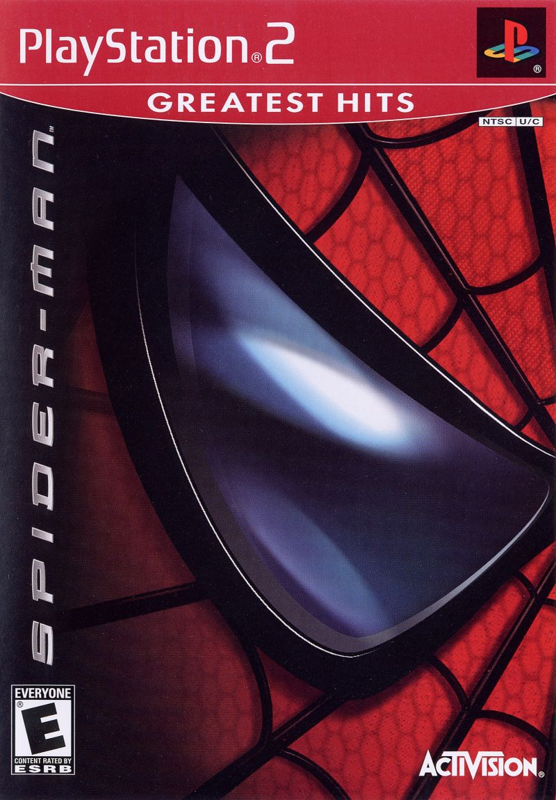 Spider-Man: The Movie PlayStation 2 Front Cover