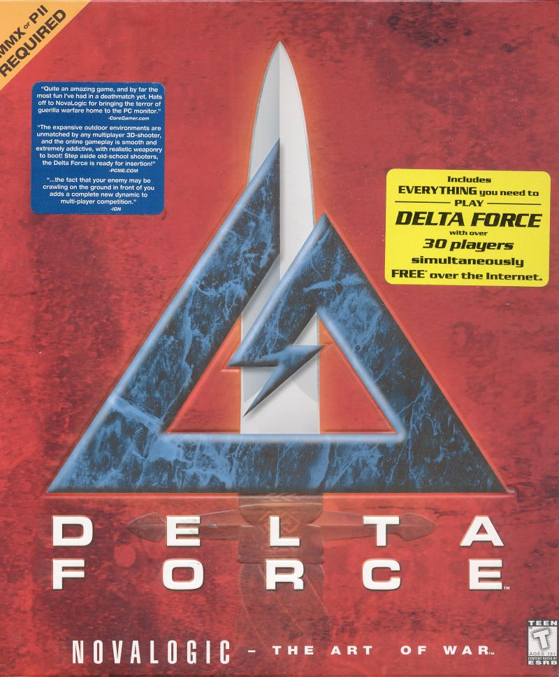 Delta Force Windows Front Cover