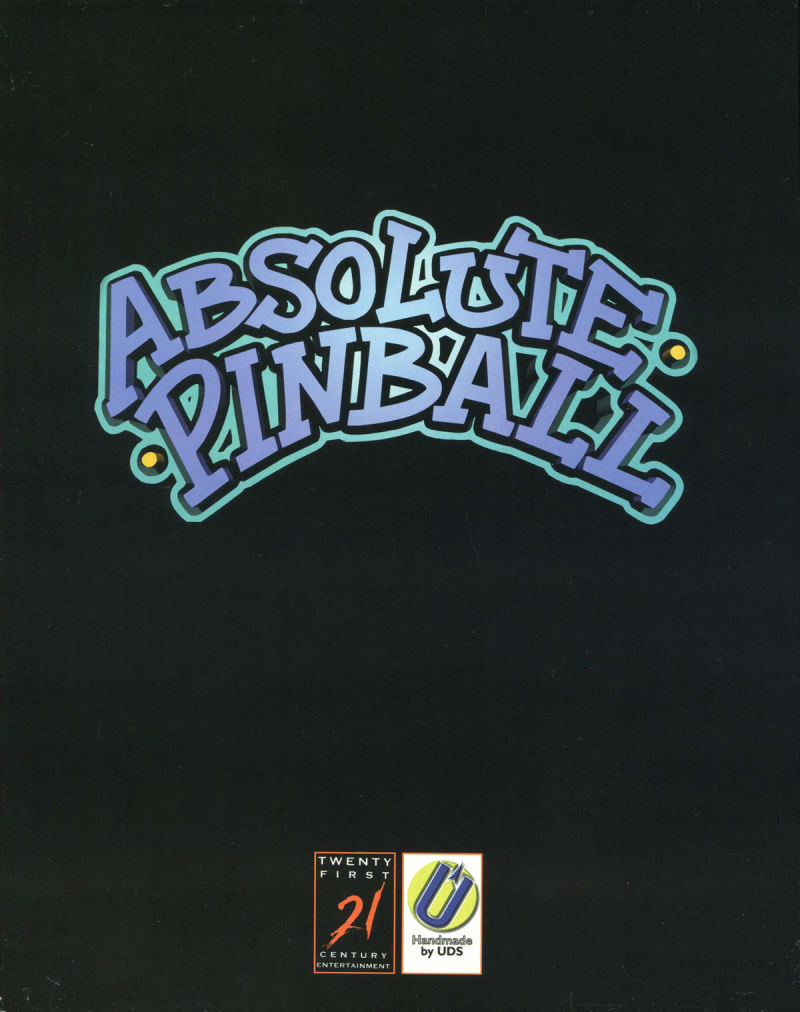 Absolute Pinball DOS Front Cover