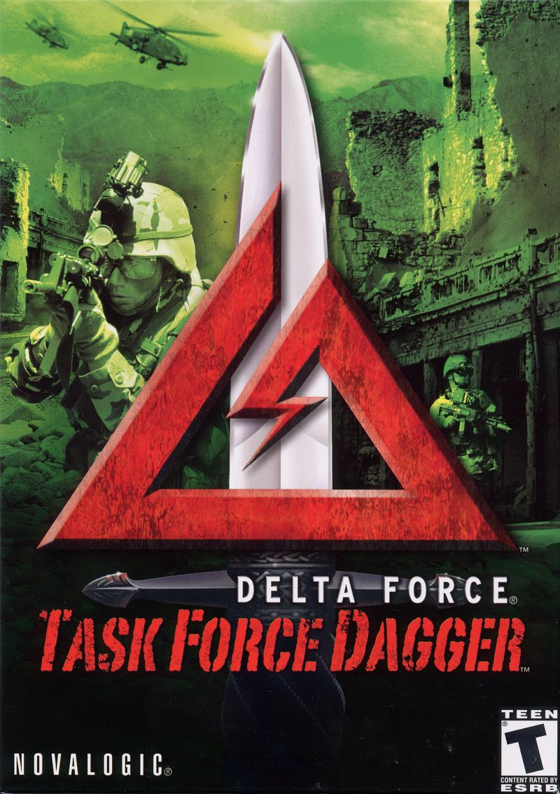 Delta Force: Task Force Dagger Windows Front Cover